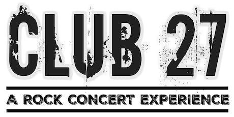 Club 27  tickets