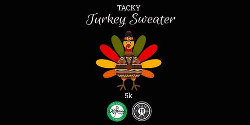 Tacky Turkey Sweater 5k