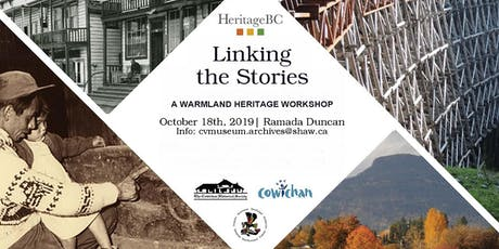Linking The Stories: A Warmland Heritage Workshop tickets