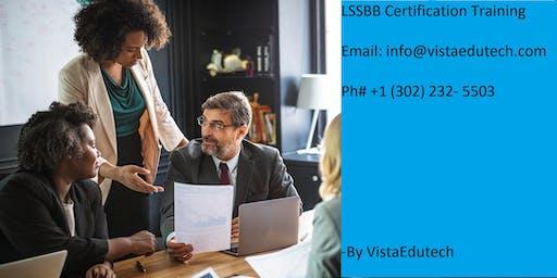 Lean Six Sigma Black Belt (LSSBB) Certification Training in Jacksonville, NC