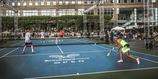 Brookfield Place Tennis: Open Court Sessions Aug 21-23 and 25-30