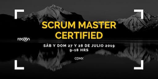 Curso de certificación Scrum Master