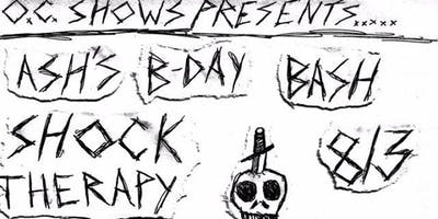 Punk Show! Shock Therapy, Capital Wasteland,1034, and more!