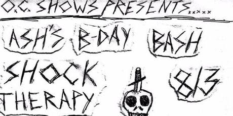 Punk Show! Shock Therapy, Capital Wasteland,1034, and more! tickets