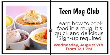 Teen Mug Club tickets