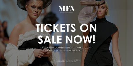 Midlands Fashion Awards 2019 tickets
