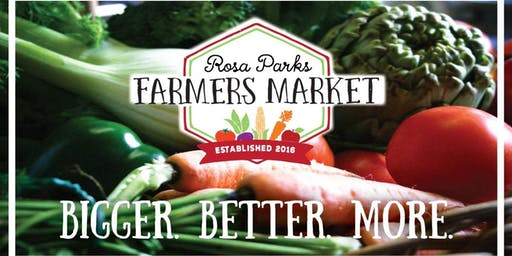 CMFPC at the Rosa Parks Farmers Market!