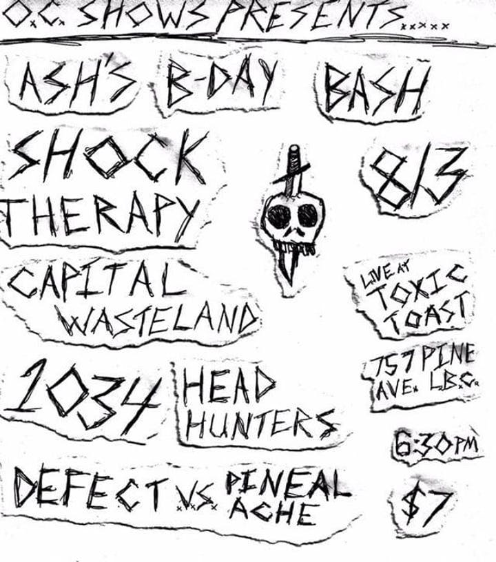 How Shock Therapy Is Saving Some >> Punk Show Shock Therapy Capital Wasteland 1034 And More Tickets