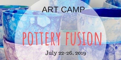 Art Camp - Pottery Fusion