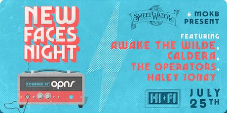 NEW FACES NIGHT: AWAKE THE WILDE, CALDERA, THE OPERATORS, HALEY JONAY tickets