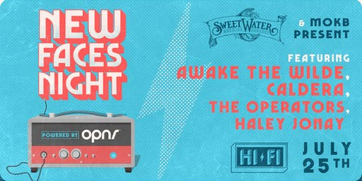 NEW FACES NIGHT: AWAKE THE WILDE, CALDERA, THE OPERATORS, HALEY JONAY