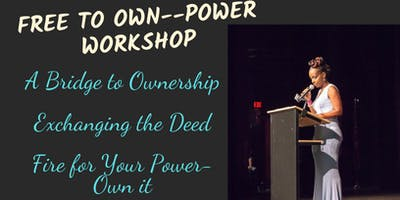 Free To Own Power Workshop