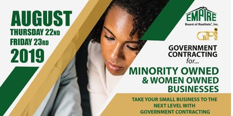 Government Contracting for..... Minority Owned and Women Owned Businesses tickets