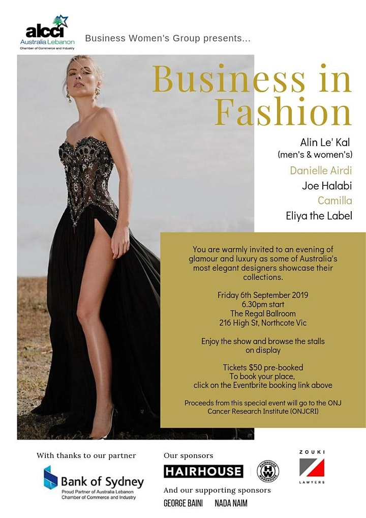 ALCCI BWG Business in Fashion image