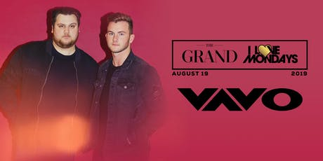 I Love Mondays feat. Vavo 8.19.19 tickets