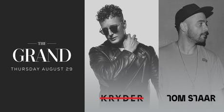 Kryder x Tom Staar | The Grand Boston 8.29.19 tickets