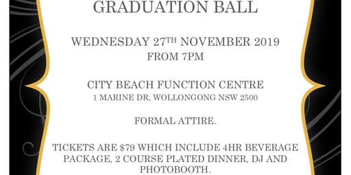 2019 UOW Nursing Graduation Ball