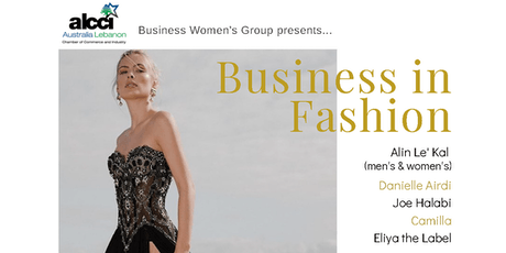 ALCCI BWG Business in Fashion tickets