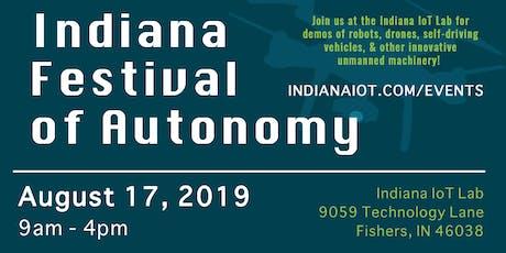 Indiana Festival of Autonomy tickets