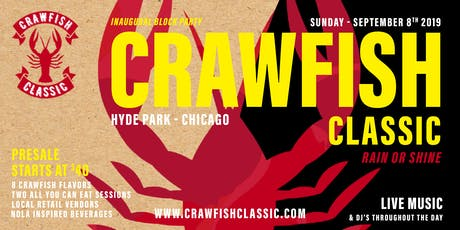CHICAGO CRAWFISH CLASSIC tickets