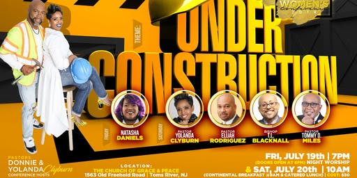 "Pathway of Life Ministries ""Under Construction"" Men & Women Conference 2019"