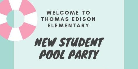 New Student Pool Party