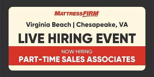 Virginia Beach & Chesapeake, VA On-the-Spot Interviews