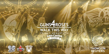 Guns 4 Roses with Walk This Way tickets