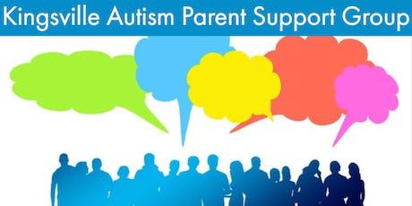 Kingsville Autism Parent Support Group - December tickets