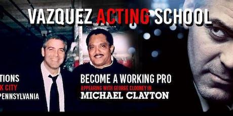 Study Acting with Pro Actor Alberto Vazquez tickets
