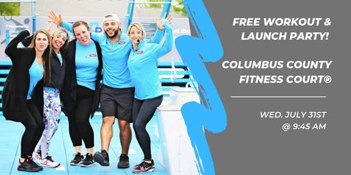 Free Workout on the Columbus County Fitness Court!