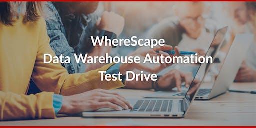 WhereScape Data Warehouse Automation Test Drive
