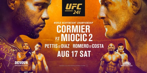 UFC 241: Cormier vs. Miocic 2 at Red Bar and Lounge