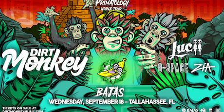 Dirt Monkey - Primatology World Tour at Bajas tickets