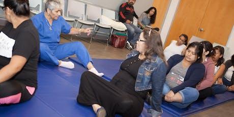 Ejercicio Prenatal entradas