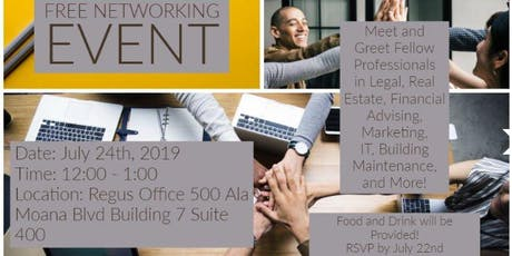 Free Networking Event @ Regus tickets
