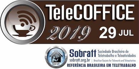 TELECOFFICE - A Lei Geral de Proteção de Dados no Brasil ingressos