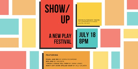SHOW/UP: A New Play Festival tickets