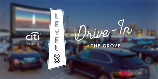 Level 8 Drive-In at The Grove: The Great Gatsby