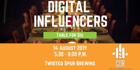Table for Six: Digital Influencers in the Midlands tickets