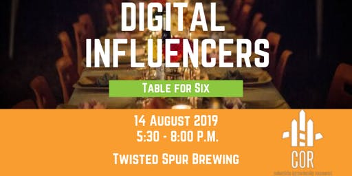 Table for Six: Digital Influencers in the Midlands