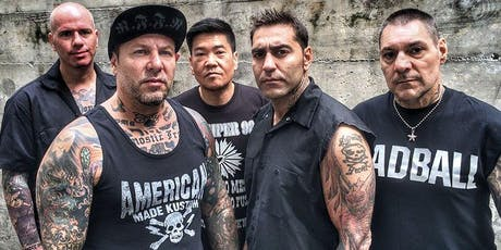 """Agnostic Front - """"Victim In Pain"""" 35th Anniversary Tour tickets"""