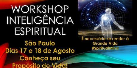 Spiritual Mind - Workshop Inteligência Espiritual! ingressos