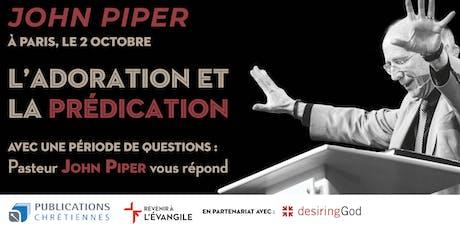 John Piper à Paris tickets