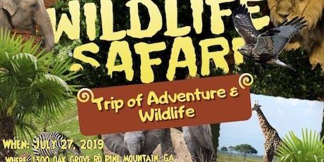 Wild Animal Safari tickets