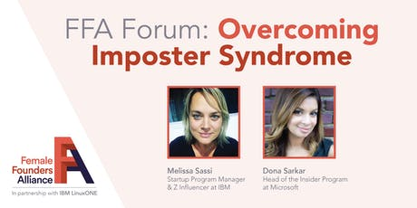 FFA Forum: Overcoming Imposter Syndrome with Dona Sarkar & Melissa Sassi tickets