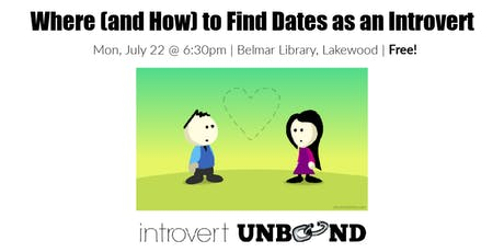 Where (and How) to Find Dates as an Introvert tickets