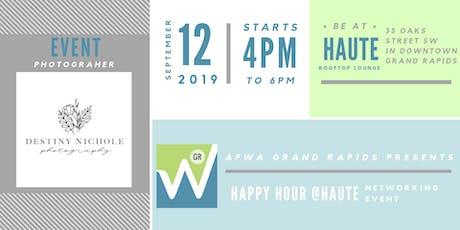 Happy Hour @Haute tickets