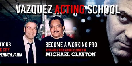 STUDY ACTING WITH PRO ACTOR ALBERTO VAZQUEZ tickets