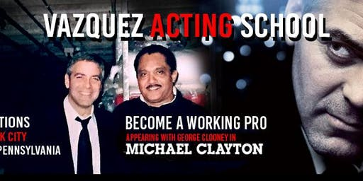 STUDY ACTING WITH PRO ACTOR ALBERTO VAZQUEZ